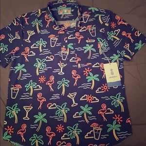 chubbies Shirts - Chubbies The One Man Wolf Pack Nutter stretch, XXL